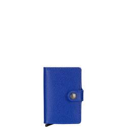 Crisple Card Protector Mini Wallet Blue