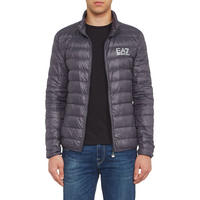 Core ID Quilted Jacket Dark Grey
