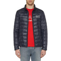 Core ID Quilted Jacket Navy