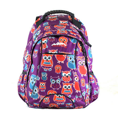 Salem Owl Backpack Purple