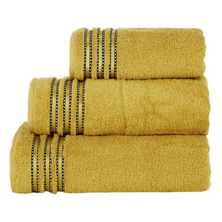 Cult De Luxe Towel Mustard