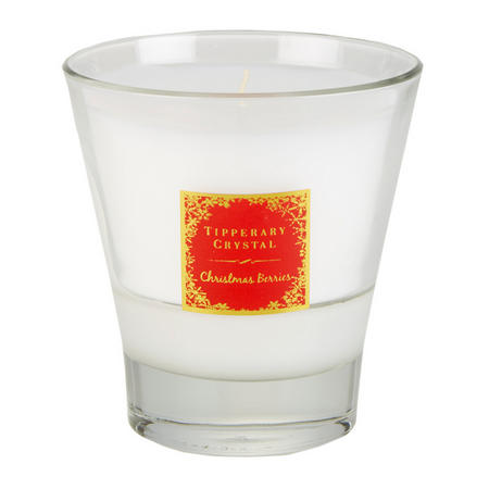 Christmas Berries Scented Tumbler Candle