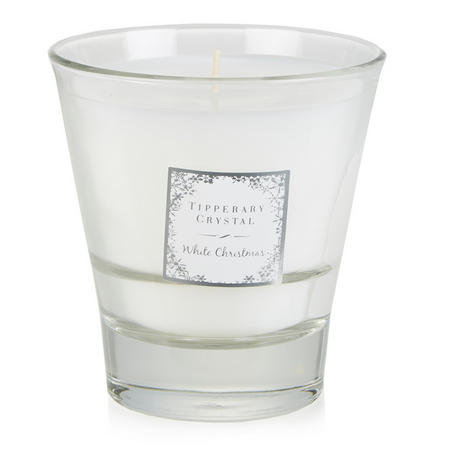 White Christmas Scented Tumbler Candle