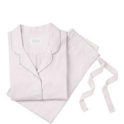 Chambray Pyjama Set Pink