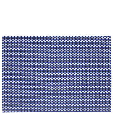 Heritage Pavilion Woven Vinyl Placemat Blue