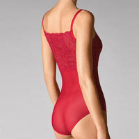Tulle Lace Body Red