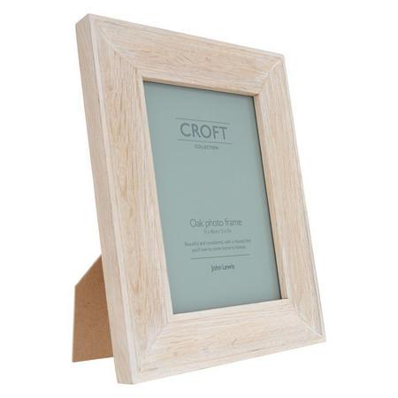 "Croft Photo Frame 5 X 7"" Oak"