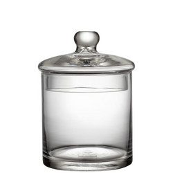 Croft Collection Glass Containers Small Clear