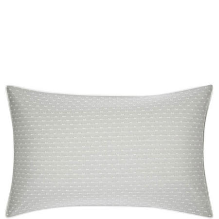 Croft Collection Bethany Standard Pillowcase Grey