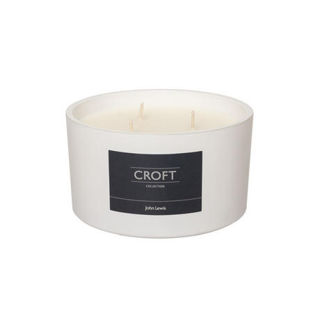 Croft Collection Fig & Amber Triple Wick Candle