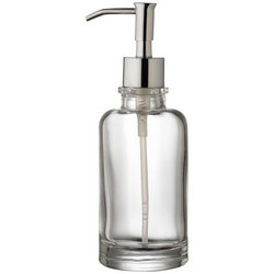 Croft Collection Glass Lotion/Soap Dispenser Clear