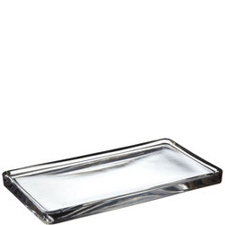 Croft Collection Glass Tray Clear