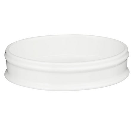 Croft Collection Skye Soap Dish White