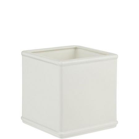 Croft Collection Skye Tissue Box Cover White