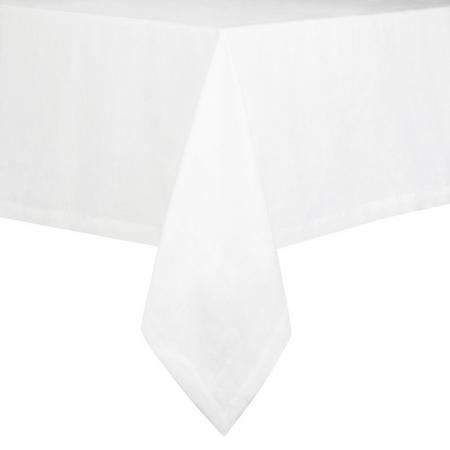 Croft Linen Tablecloth Large White