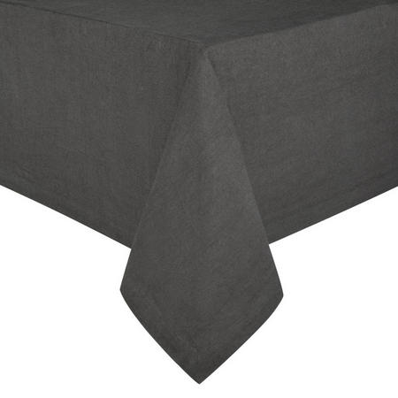 Croft Collection Emberton Tablecloth Steel
