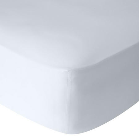 Perfectly Smooth 200 Thread Count Egyptian Cotton Fitted Sheet Spring Tide