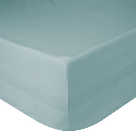 Perfectly Smooth 200 Thread Count Egyptian Cotton Fitted Sheet Duck Egg