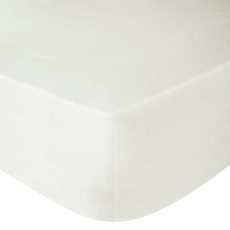 Perfectly Smooth 200 Thread Count Egyptian Cotton Deep Fitted Sheet Cream