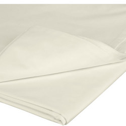 Perfectly Smooth 200 Thread Count Egyptian Cotton Flat Sheet Cream