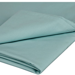 Perfectly Smooth 200 Thread Count Egyptian Cotton Flat SheetDuck Egg