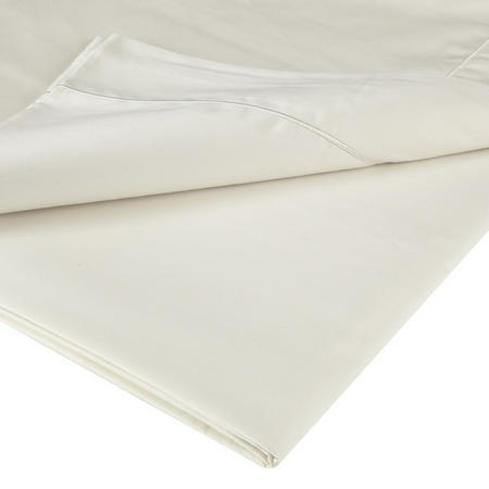 400 Thread Count Soft & Silky Egyptian Cotton Deep Fitted Sheet Cream. <br><br> Size: 36cm