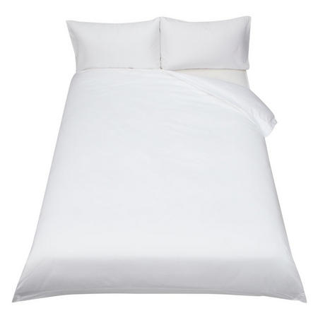 400 Thread Count Soft & Silky Egyptian Cotton Duvet Cover White