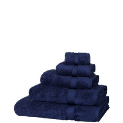Egyptian Cotton Towels Navy Blue
