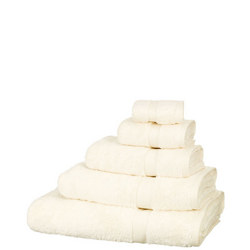 Egyptian Cotton Towels Soft Cream