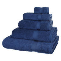 Egyptian Cotton Towels Sapphire