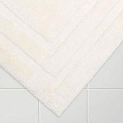Egyptian Cotton Deep Pile Bath Mat Soft Cream