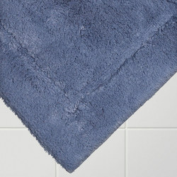 Egyptian Cotton Deep Pile Bath Mat Pacific