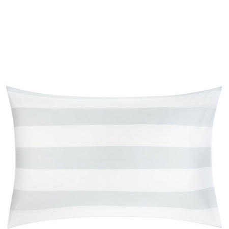 Kensington Stripe Standard PillowcaseBlue/White