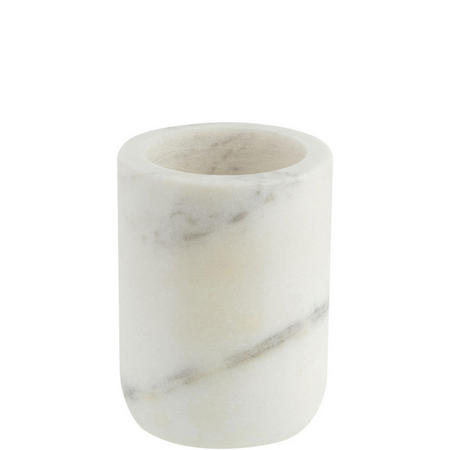 White Marble Bathroom Tumbler