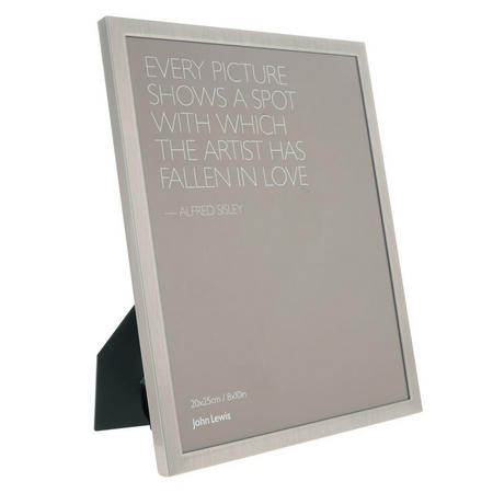 Design Project No.026 Pewter Finish Photo Frame A4