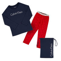 Two Piece Pyjama Set Navy