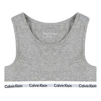 Girls Two-Pack Bralettes Grey