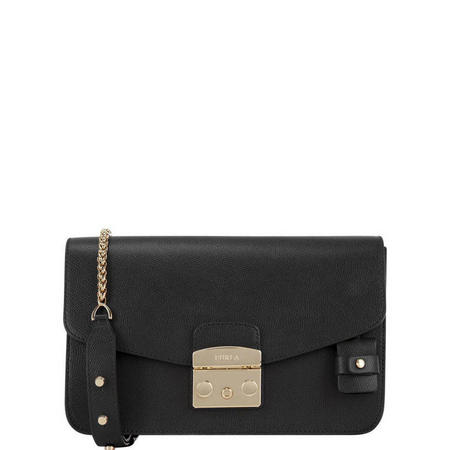Metropolis Medium Crossbody Bag Black