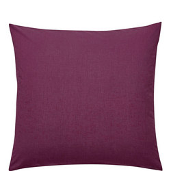 Percale Square Pillowcase Purple