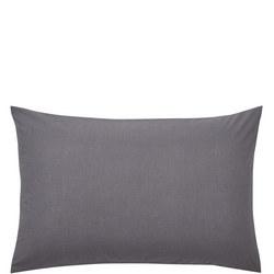 Percale Standard Pillowcase Charcoal