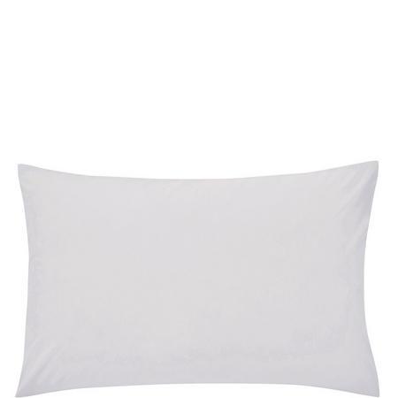 Percale Standard Pillowcase Silver