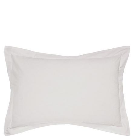 Percale Oxford Pillowcase Silver