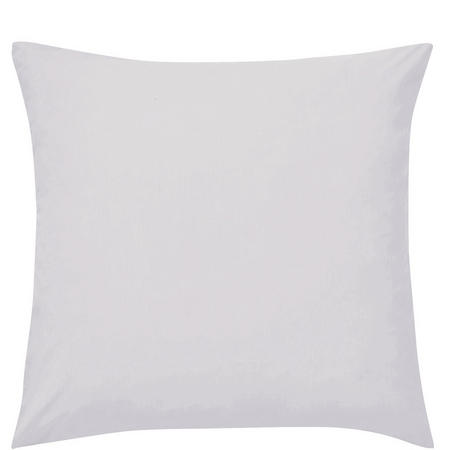 Percale Square Pillowcase Silver