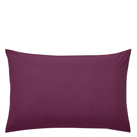Percale Standard Pillowcase Purple