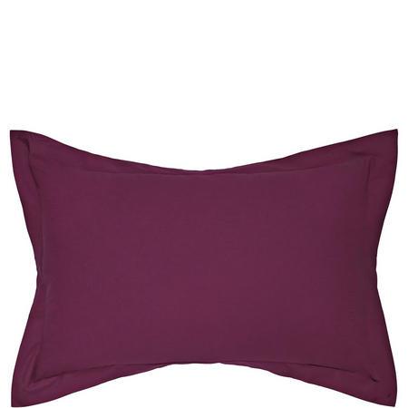 Percale Oxford Pillowcase Purple