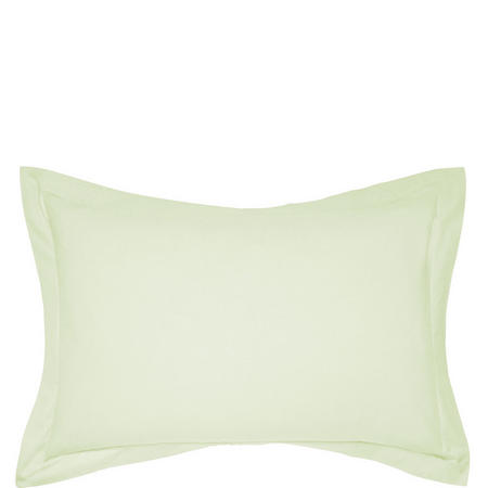 Percale Oxford Pillowcase Light Green