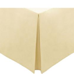 Percale Base Valance Sheet Lemon