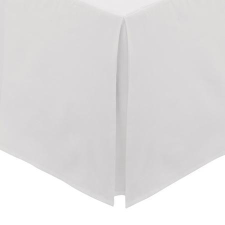 Percale Base Valance Sheet Silver