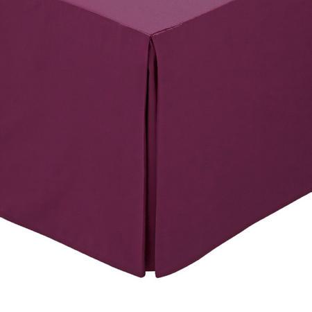 Percale Base Valance Sheet Purple