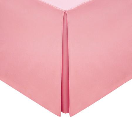 Percale Base Valance Sheet Dark Pink